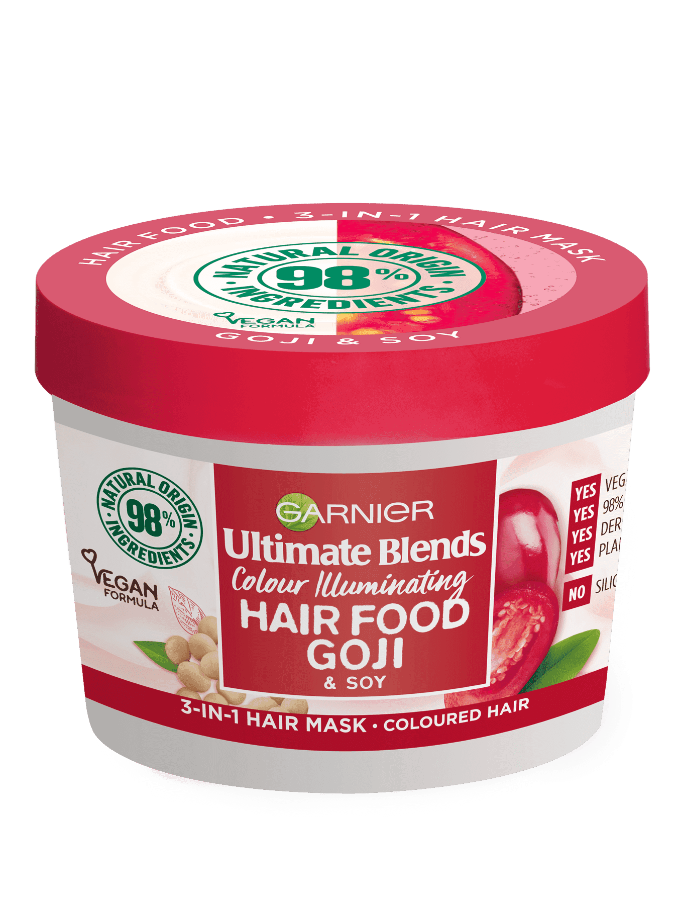GOJI Hair Food packshot 3-in-1 hair mask